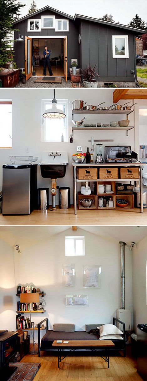 Small Homes, small spaces...