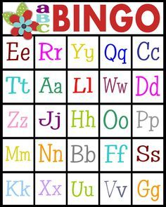 For teaching letter recognition or letter sounds