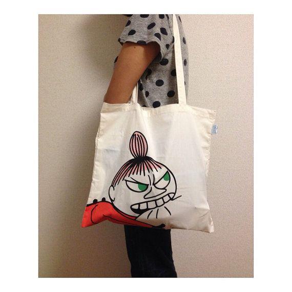 Moomin - Little My tote bag no. 2