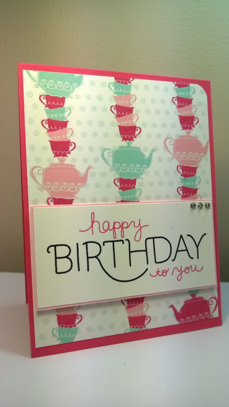 Happy Birthday card - using MDS (My Digital Studio) - by Kylie Swain.  https://www.facebook.com/BlossomDesigns2