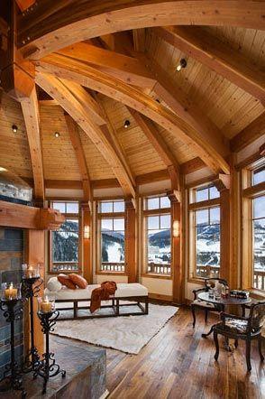 MossCreek Designs Beautiful Timber Frame Work