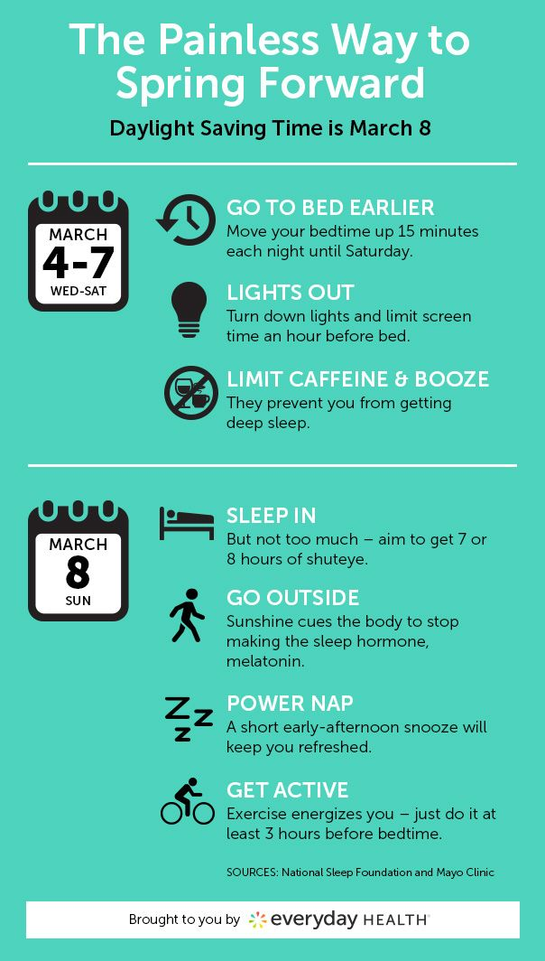 Daylight Saving Time is upon us. Here's how to lose an hour without losing any sleep.