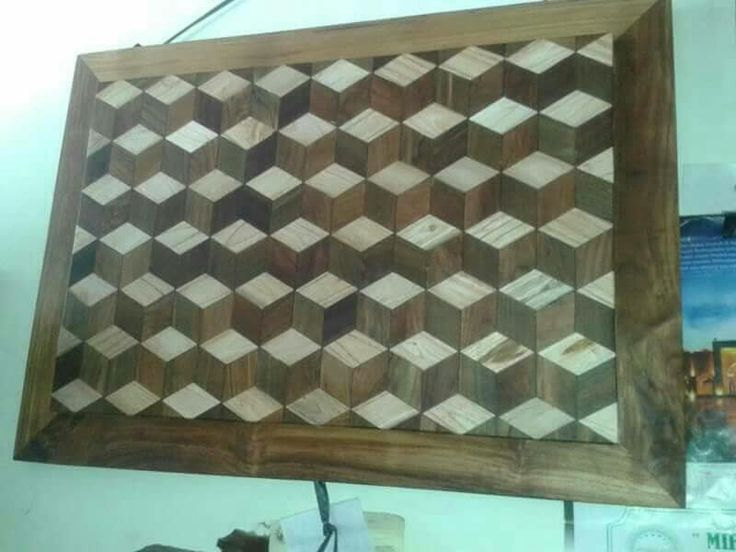 Welpeper 3D kayu jati