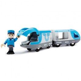 travel battery train   brio