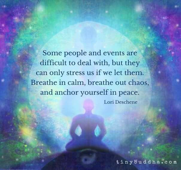 Image result for breathe in peace breathe out stress