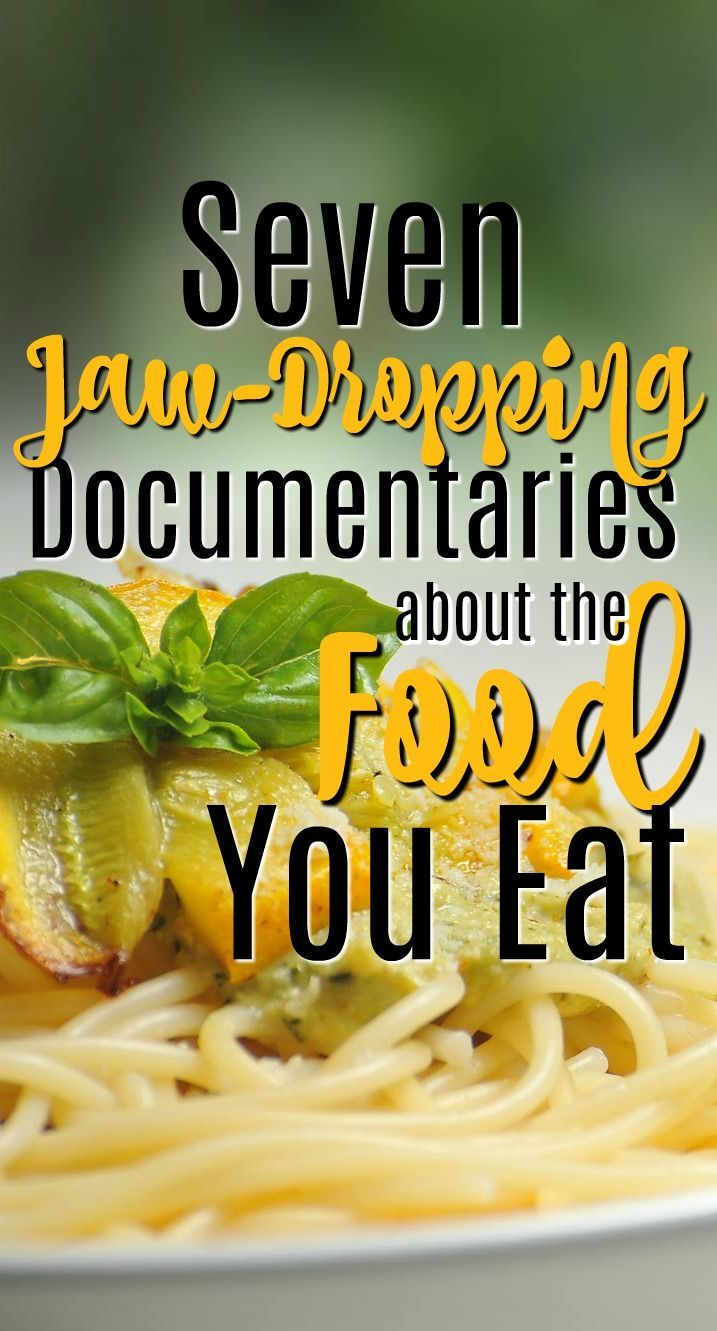 This list of documentaries about your food is bound to change the way you eat. You won't believe some of the facts in store for you! These are all amazing documentaries that everyone should see.