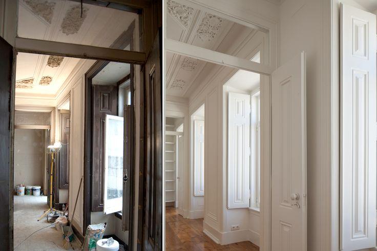 #refurbishment #before&after #threerooms #targa #atelier