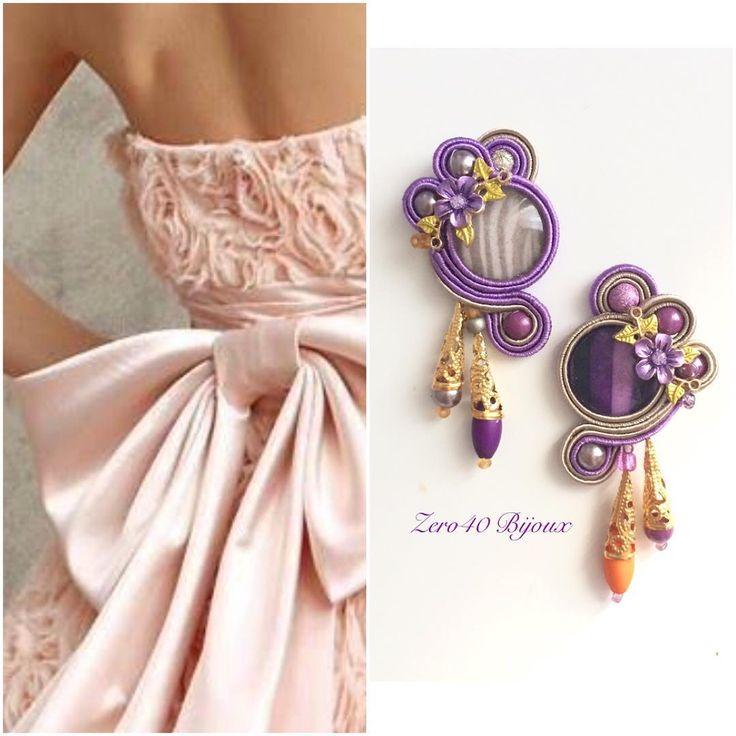 #soutache #soutachemania #sutasz #soutaches #sutaszomania #handmade #hechoamano #handmadejewelry #handmadewithlove #earrings #orecchini #orecchinifattiamano #orecchinihandmade