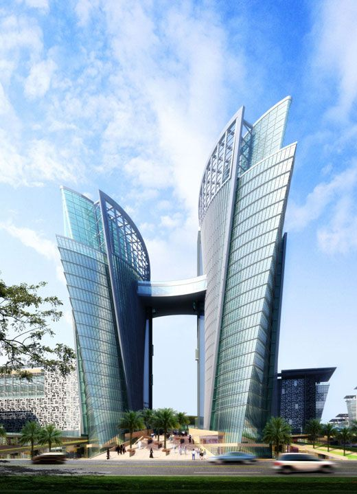 Very Luxurious Architecture Building in Meydan City, Dubai