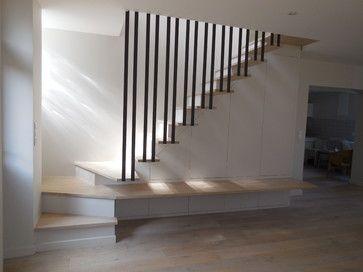 Escalier sur mesure - contemporain - Escalier - Other Metro - NEWDECO