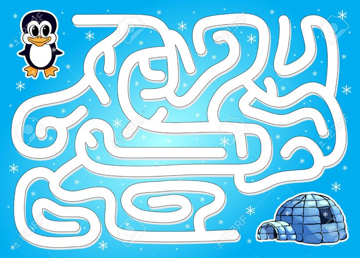 46741932-Help-penguin-to-find-way-to-igloo-in-a-winter-maze-Educational-game-for-children-Vector-illustration-Stock-Vector.jpg (1300×933)