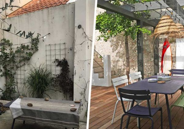 Tuto Realisez Un Claustra Design En Bois Dans Votre Jardin En 2020 Bac A Fleurs Pergola Claustra