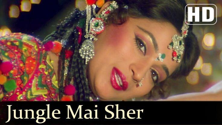 Jungle Mai Sher Bagon Mai Mor - Madhuri Dixit - Rishi Kapoor - Prem Gran...