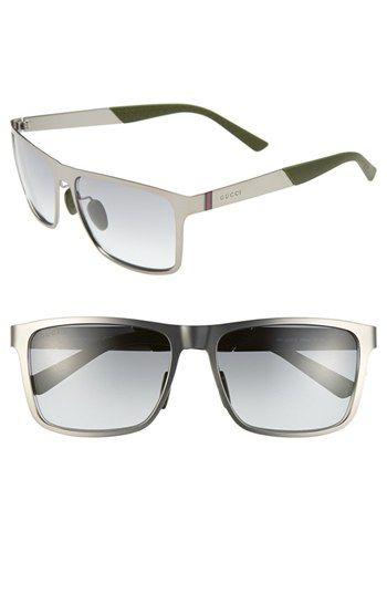 Men's Gucci 57mm Sunglasses