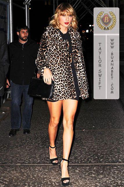 Saran Gaya Masa Kini: Taylor Swift tampil ganas dengan Jaket Macan Tutul...