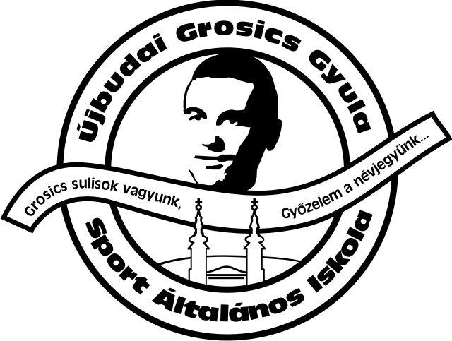 Újbudai Grosics Gyula Sport Általános Iskola (logo)