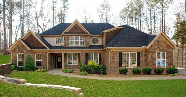 Artistic Red Brick Home Design Building Red Brick House Facade House House Under Construction