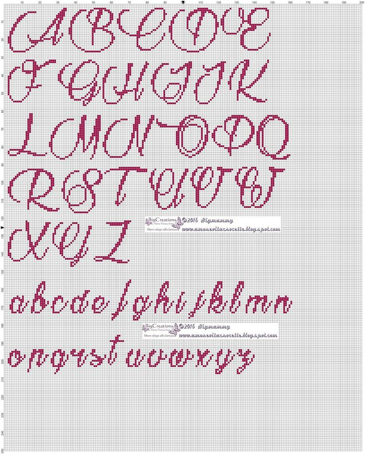 3105 Best Images About Cross Stitch Alphabets On Pinterest
