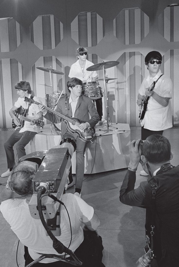 """16th February 1964. The Beatles final rehearsal for the """"Ed Sullivan Show"""" at the Deauville Hotel, Miami."""