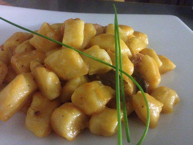 Gnocchi con zucca e funghi porcini | Food Loft - Il sito web ufficiale di Simone Rugiati