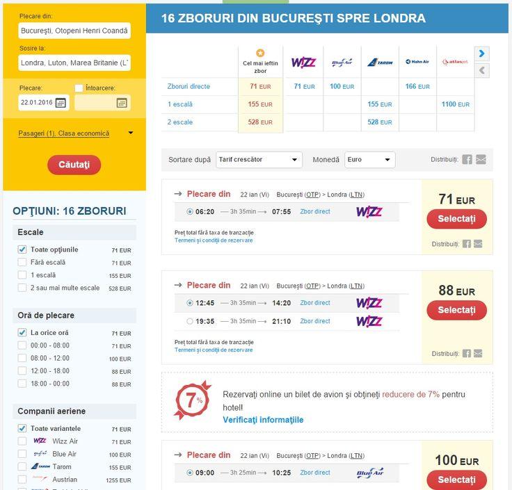 Pe website-ul nostru gasesti bilete de avion ieftine pentru londra.  www.votp.info/bilete-avion/londra-bucuresti-romania