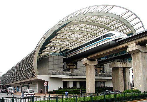 Estacion tren Maglev de Shanghai