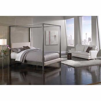 Avalon Canopy Queen Bed