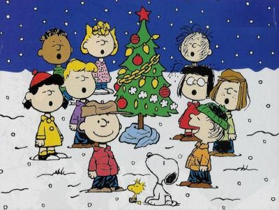 A Charlie Brown Christmas. Great story about the real meaning of Christmas.