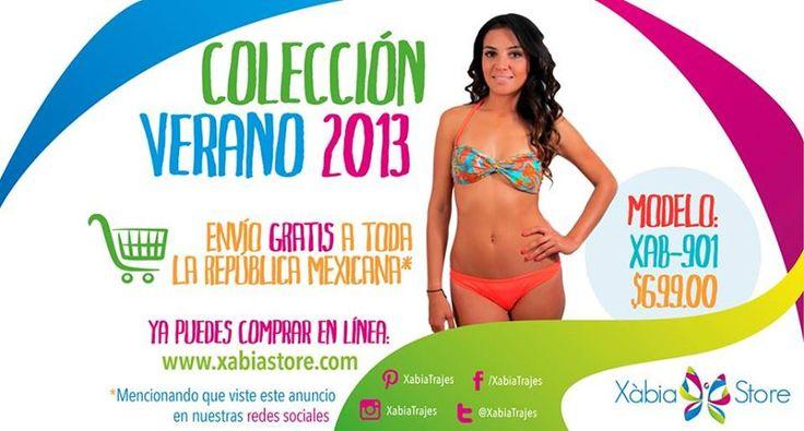 Visita nuestra tienda en línea www.xabiastore.com y recuerda que te enviamos tu bikini a cualquier parte de la republica mexicana.