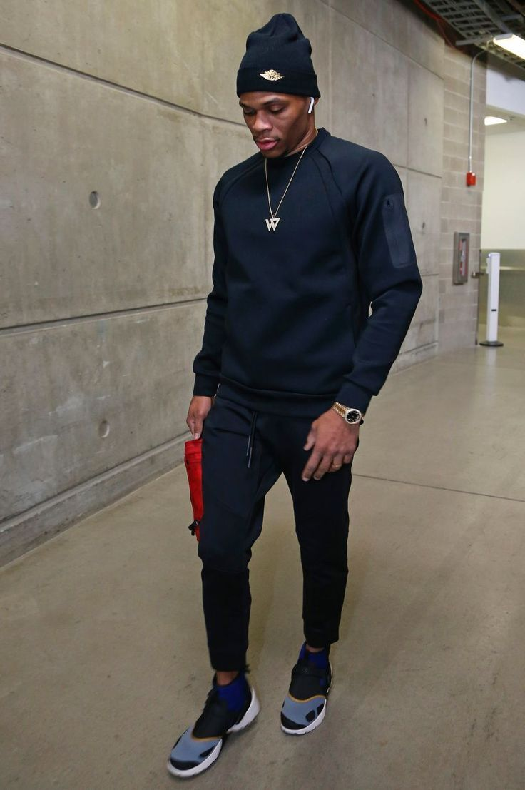 c581b088f419f4 82 Flavors of Russell Westbrook - Every outfit the Oklahoma City Thunder  star wore in 2017-18