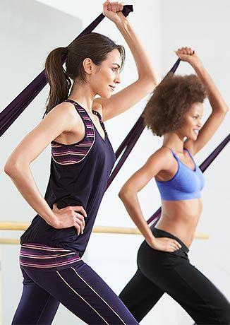 Sportovní oblečení na jógu, fitness a další sporty