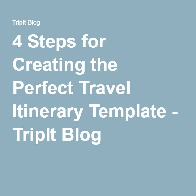 1000+ ιδέες για Travel Itinerary Template στο Pinterest Ταξίδια - travel itinerary template