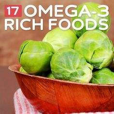 17 Foods High in Omega-3 Fatty Acids- for optimal health.