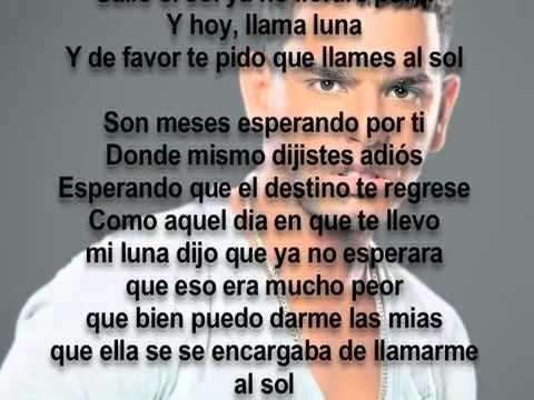 """""""Llama Al Sol"""" por Tito El Bambino  (Spanish Lyrics_Letras)"""