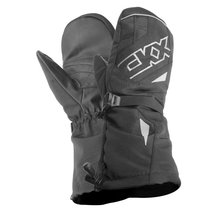 CKX 2016 - Mittens - THROTTLE Series Black - ckxgear.com