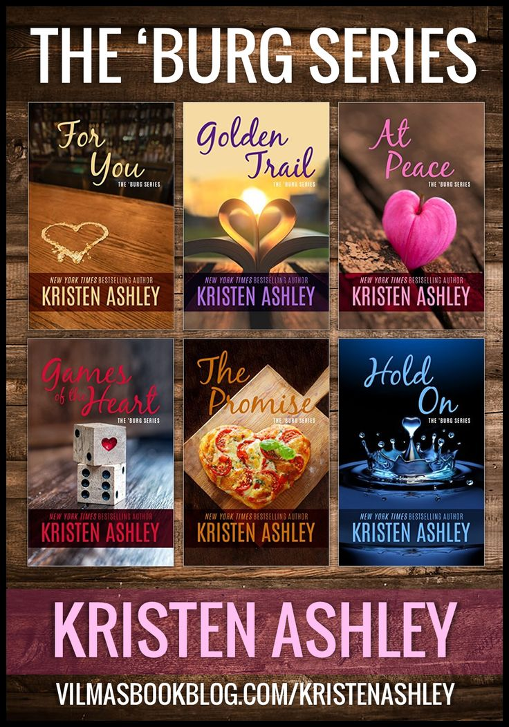 THE 'BURG series by Kristen Ashley @kashley0155 FRIGGIN' love KA!! Especially this series!