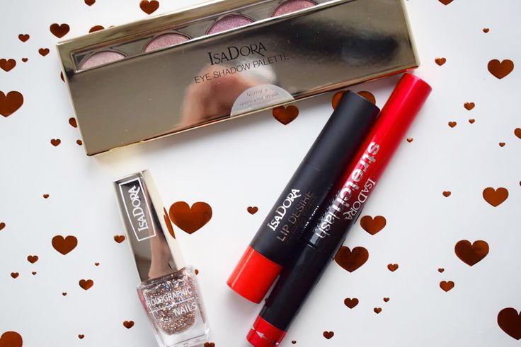 ISADORA CRUSH I Sponsored #isadora #glitter #glimmer #isadorahaul #haul #makeup #makeupgeek #redlips #newyear #NYE #newyearseve #eyeshadow #pinkpalette #makeuptips
