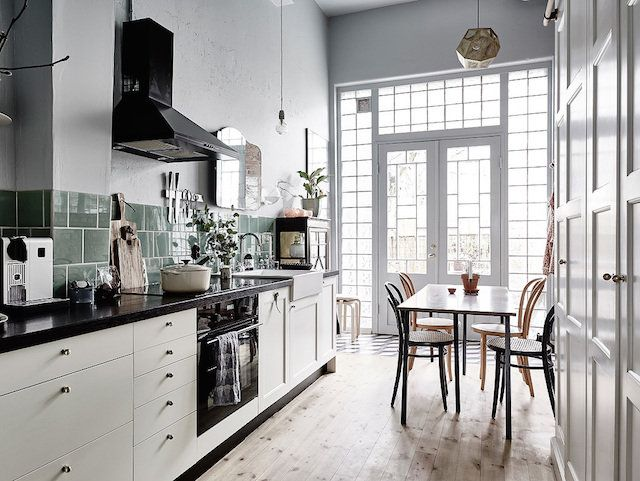 my scandinavian home: A romantic Swedish home with vintage touches