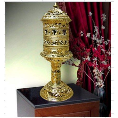 Dokra Home Decor Intricate Designed Table Lamp