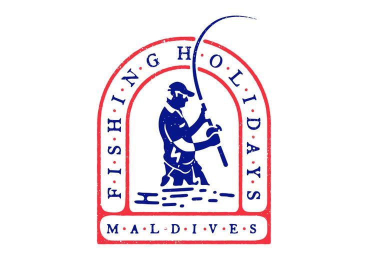 Fishing Holiday Maldives Main Logo by iArafath