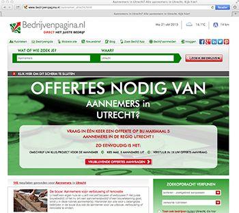 Direct offertes aanvragen en vergelijken van 5 bedrijven tegelijk met Bedrijvenpagina.nl