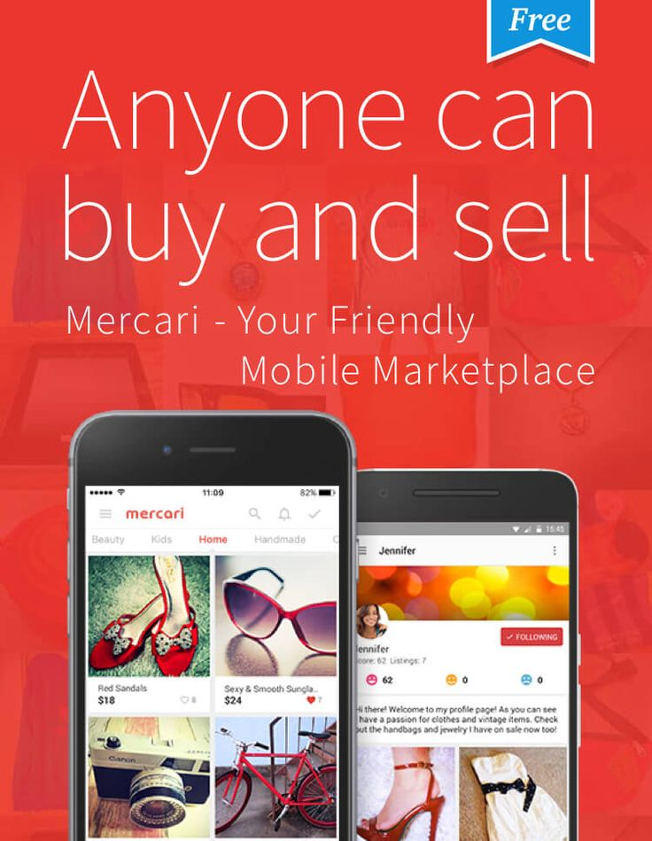 Mercari provides a hassle-free and secure way for anyone to buy and sell stuff s… – Mercado
