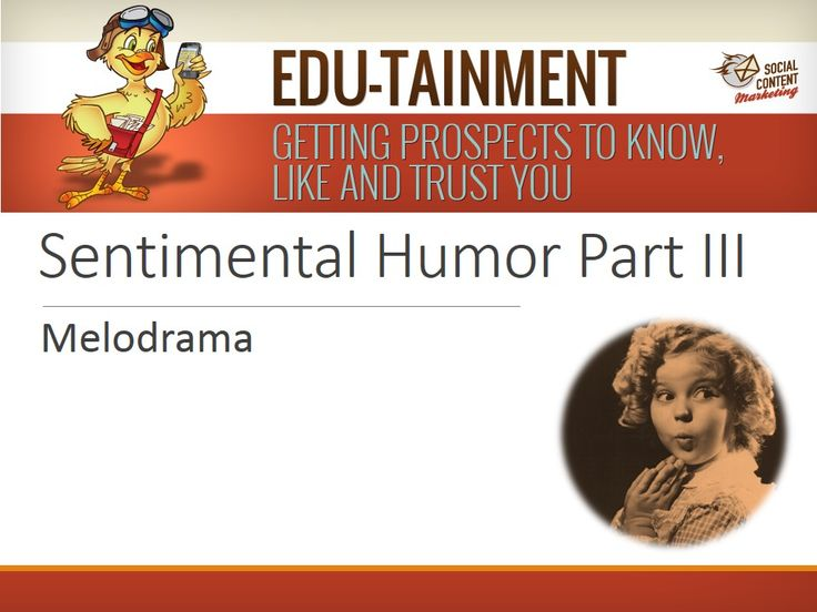 "#12: Sentimental Humor (Part III) - This Part III of IV series on ""Top 15 Viral Video Engagers: #12 ""Sentimental Humor"" shows examples of how ""melodrama"" can boost social video attention and engagement. The viral YouTube videos show how portrayals of histrionic, melancholic and fervent behaviors can generate above results on YouTube views, likability and comments. Our thanks to the sponsors for recasting these commercials as YouTube videos."