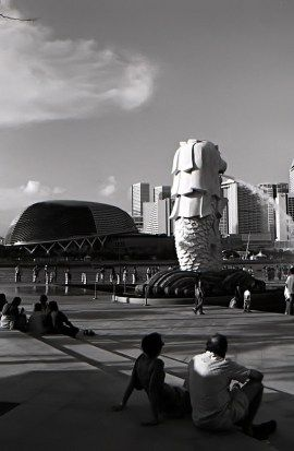 "Before there is the monolithic Marina Bay Sands or the hustle of Formula One night race, the city state of Singapore was not soring to the eye or too choking as it is now. Then, the city was the center of attention largely for its durian-shaped theater on the bay ""Esplanade"", opened in 2002."
