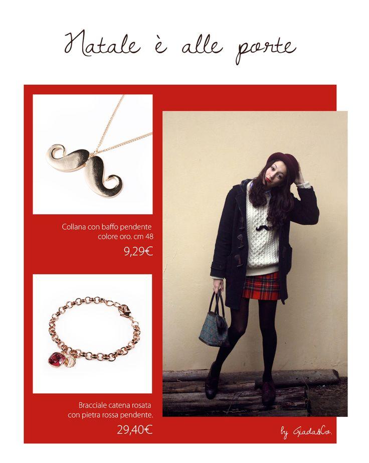 Iniziano le spese pazze per i regali di natale!!  BRACCIALE http://www.giadaandco.com/bracciali/bracciale-catena-rosata-pietra-pendente-fuxia COLLANA http://www.giadaandco.com/collane/necklace-gold-whisker #gift #christmas #bijoux #giadaandco.