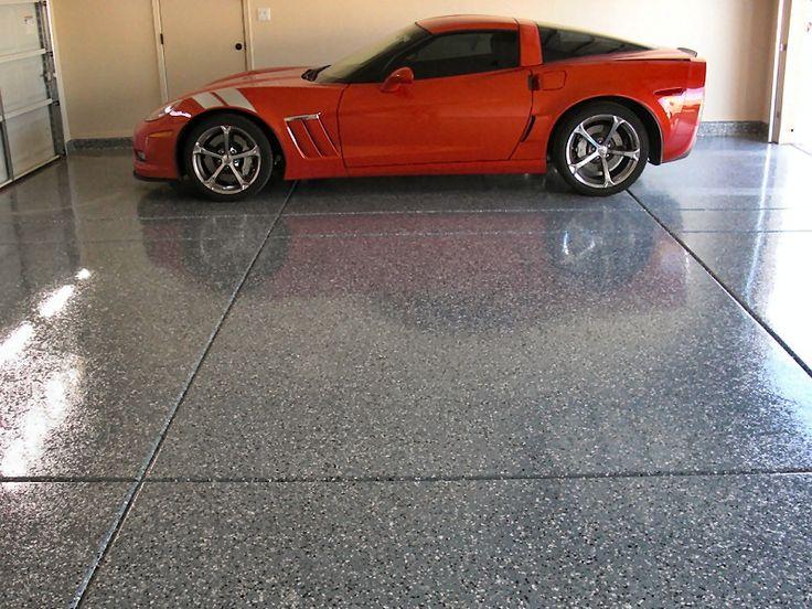 epoxy floor , does your garage look this good : http://www.northernconcreteinc.com/