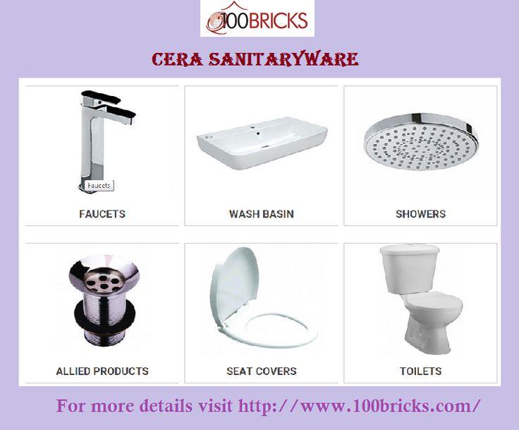 #Cera #Sanitaryware -  For more details visit http://www.100bricks.com/