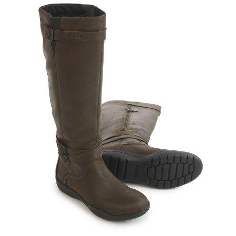 Columbia Sportswear Jessa Boots - Waterproof, Leather (For Women) in Black/Pebble