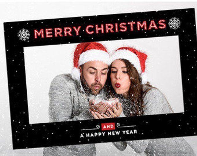 Christmas Frame Digital Frames Printable Frames Photo Booth Frame