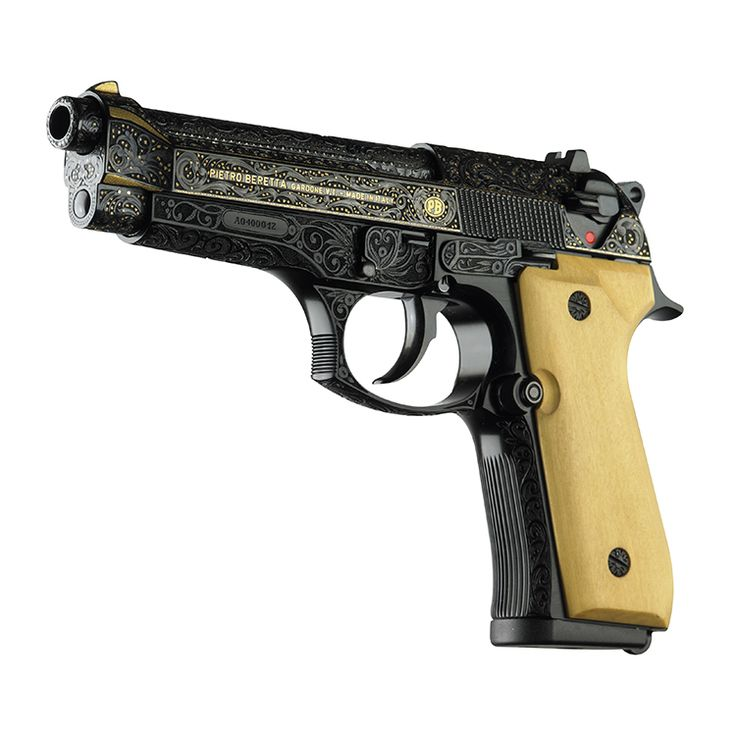 No. 6 of 10 - Beretta 92FS Limited Edition inspired by a nocturnal theme